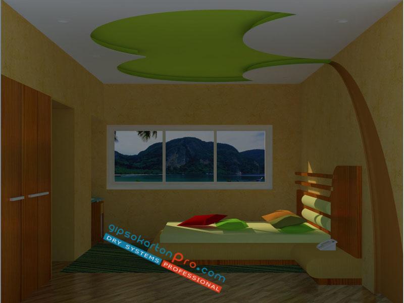 Окачени тавани с декоративни елементи , фигури от гипсокартон в Бургас Царево Приморско.