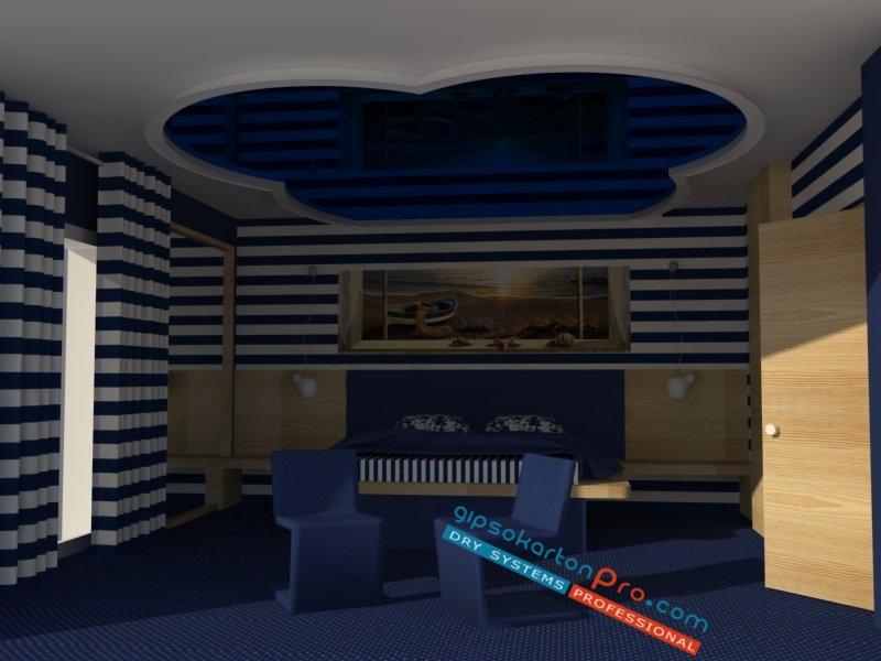 Опънати тавани .Цени за Бургас Царево и Проморско.Таван гланциран лак подходящ за спалня.