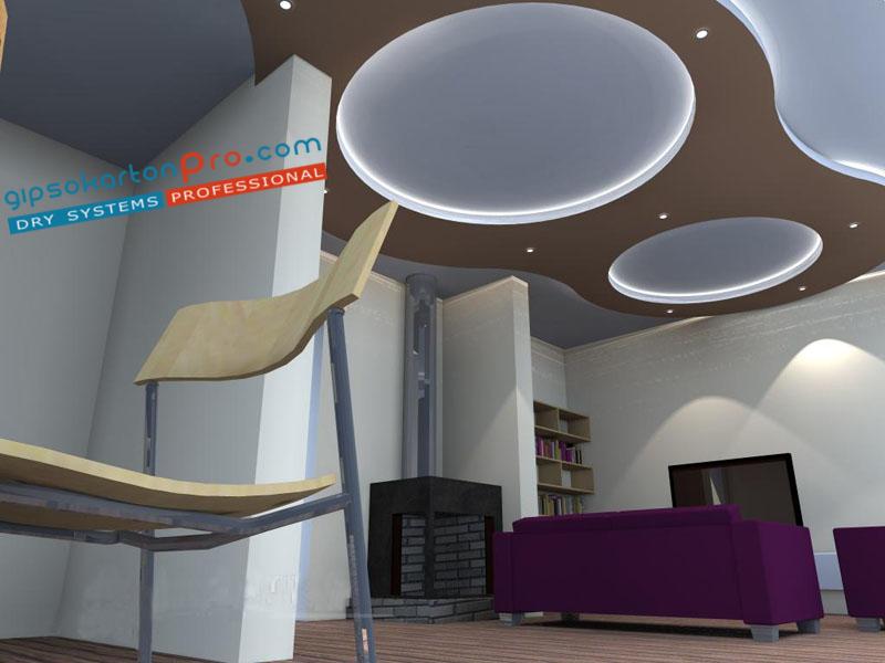 """Проектиране и изграждане на окачени тавани във Варна от """"Гипсокартон Про"""""""