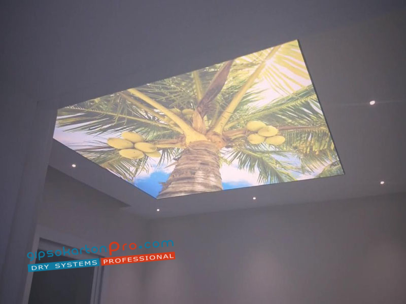 Цени за опънати тавани с фотопечат във Варна София и Бургас .Опънати тавани за детска стая.