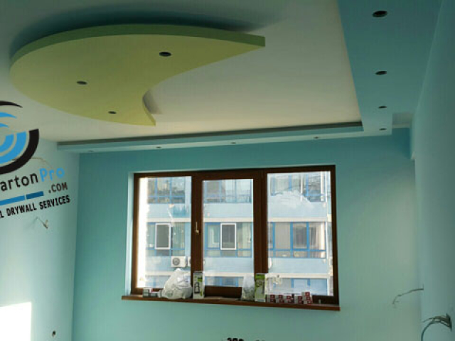 Окачени тавани за детска стая . Варна 07.2015