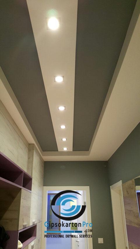 Окачени тавани за коридор