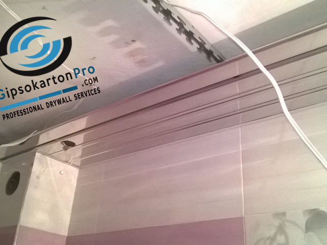 Хънтър Дъглас Бургас - монтаж на огледални ламели