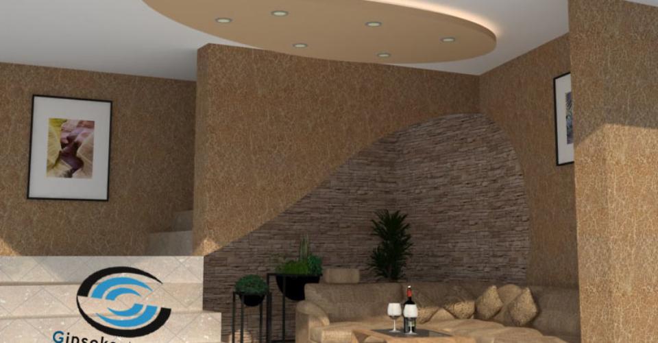 Гипсокаертон Бургас - елементи от гипсокартон по таван и стени