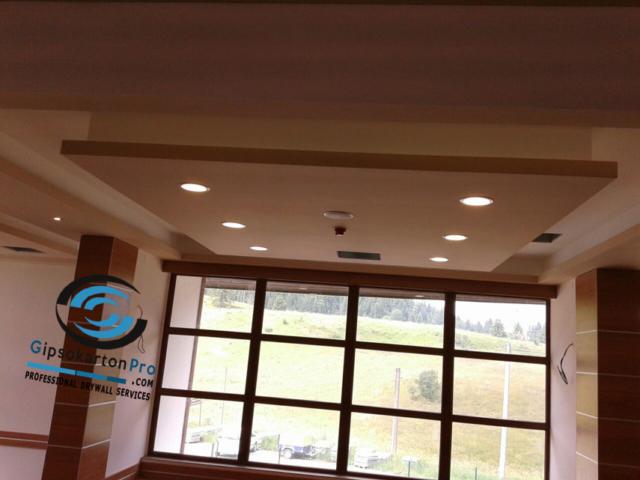 Окачени тавани със скрито осветление