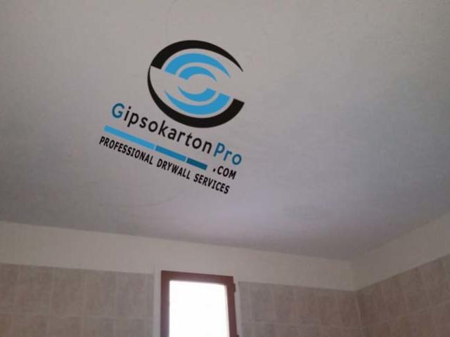 Как се прави опънат таван