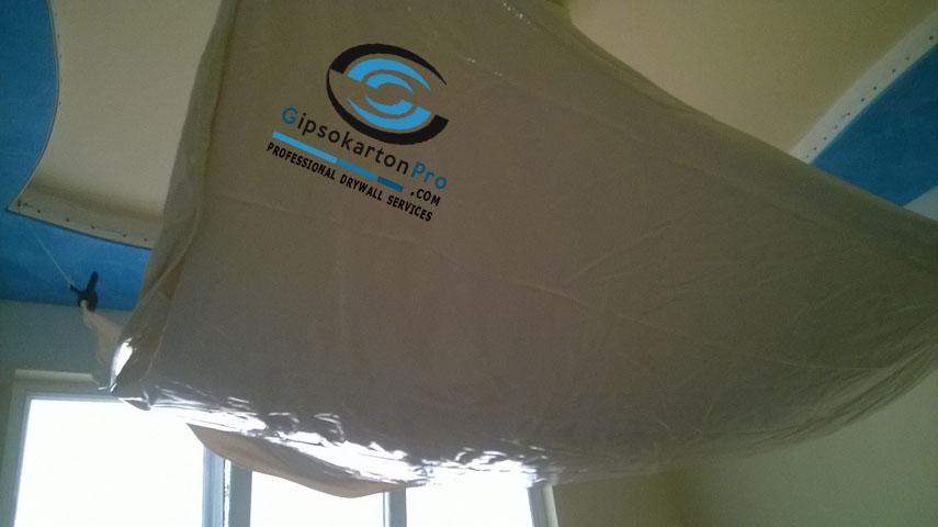 Монтаж на опънати тавани за детска стая Варна