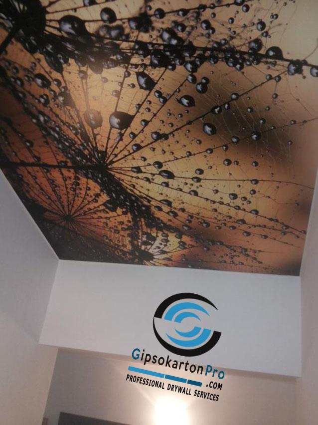 Опънати тавани апартамент Бургас
