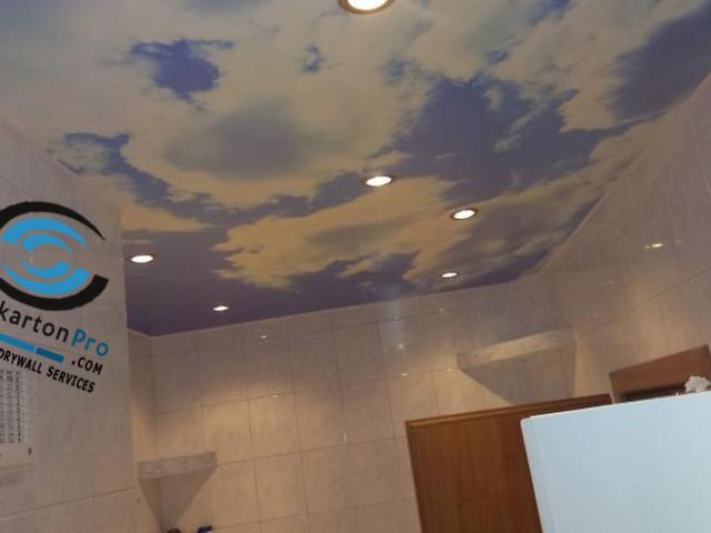 Опънати тавани небе Бургас