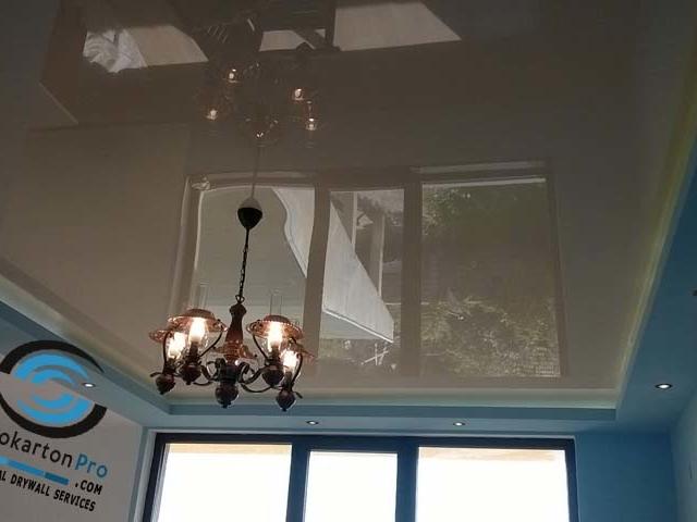 Опънат таван с лед осветление Бургас