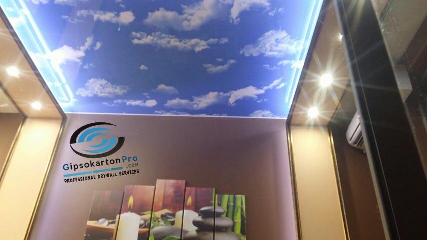 Опънати тавани с небе