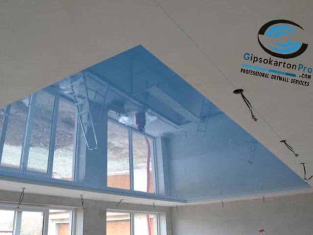 Опнати тавани за басейни