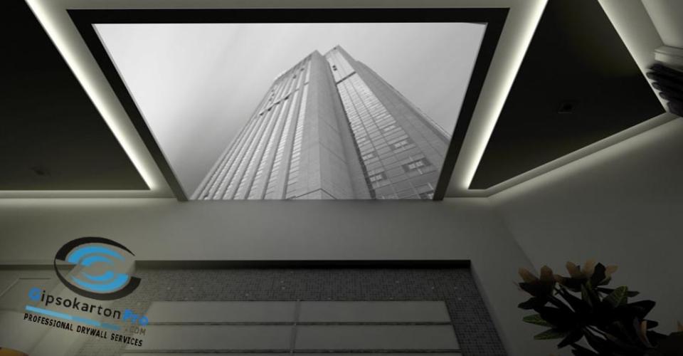 Опънати тавани с 3Д снимки