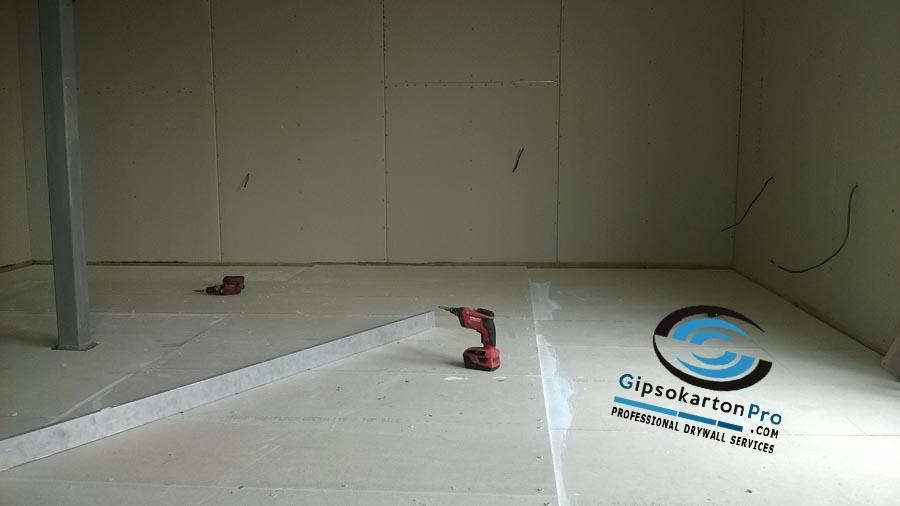 Монтаж на сух под във Варна