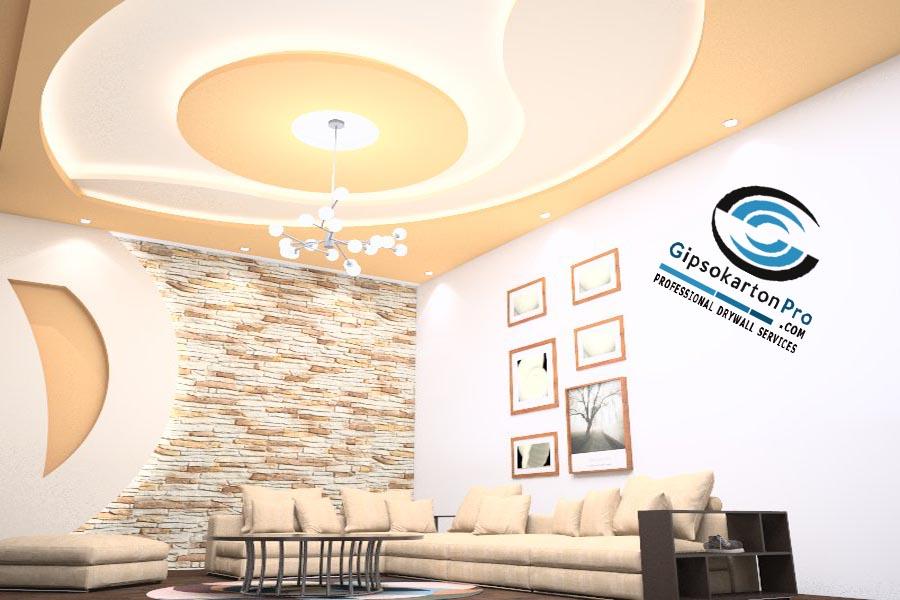 3Д проекти на окачени тавани