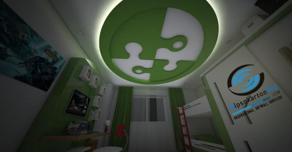3Д проекти за окачени тавани