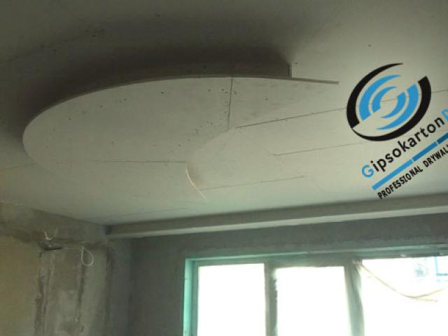 Окачен таван за детска стая във Варна