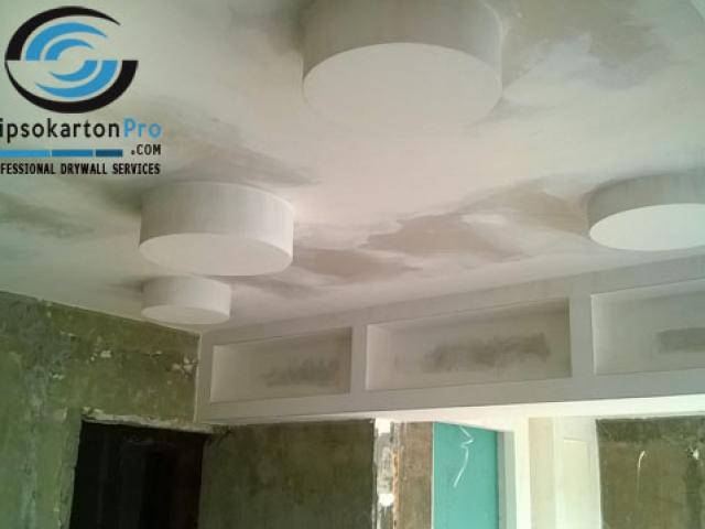 Окачени тавани за кухня и трапезария Варна