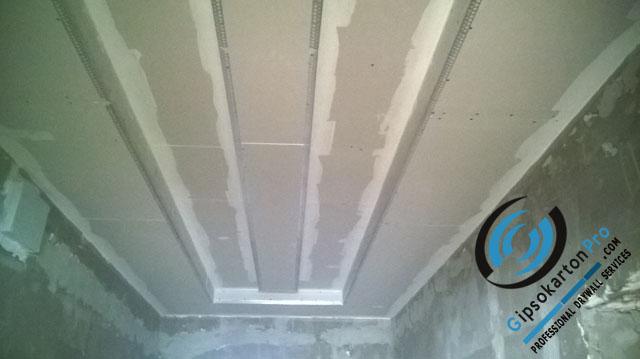Окачени тавани за коридор Варна