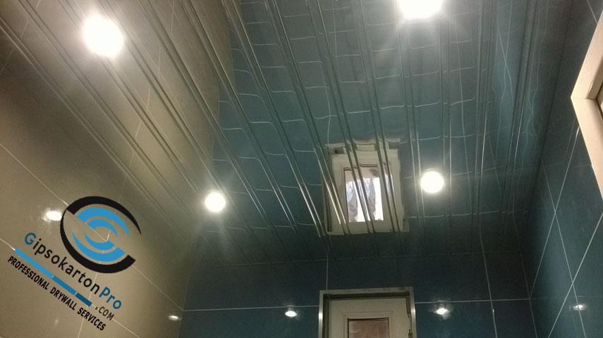 Огледален окачен таван за баня Хънтър Дъглас - Бургас , Созопол
