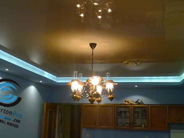Огледални опънати тавани