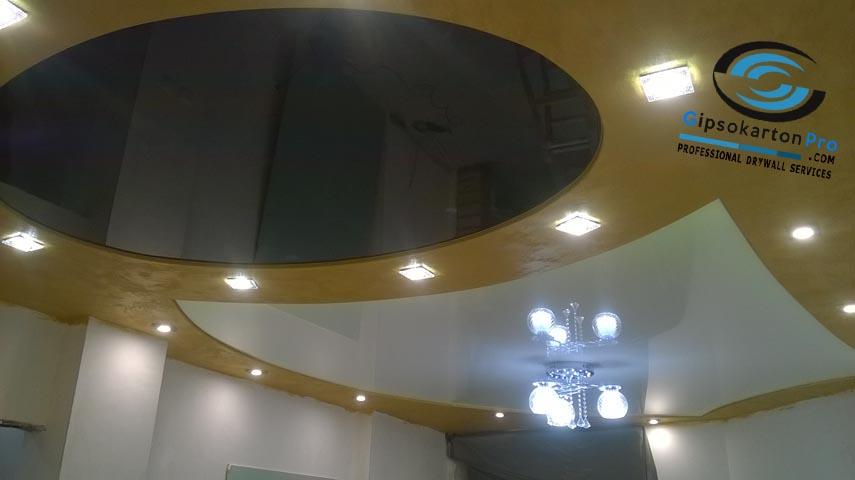 Опънати тавани за хол Варна