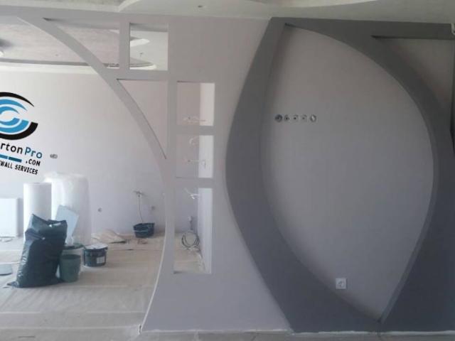 Гипсокартон Декорация на стени с гипсокартон