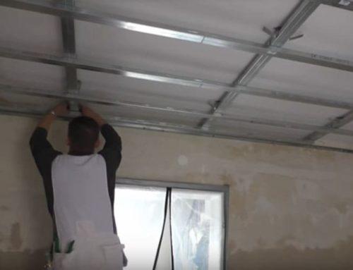 Как да си направим сами окачен таван от гипсокартон – Втора Част