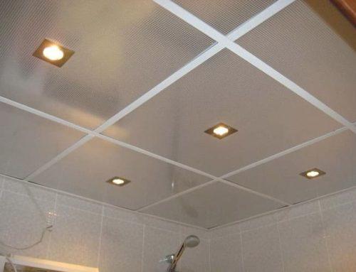 Монтаж на растерен окачен таван в баня – Първа Част